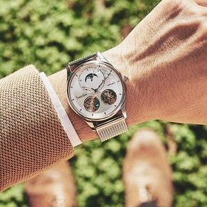 Image 3 - Bestdon montre automatique avec squelette, modèle à Tourbillon, pour hommes, suisse, marque de luxe, montre pour hommes
