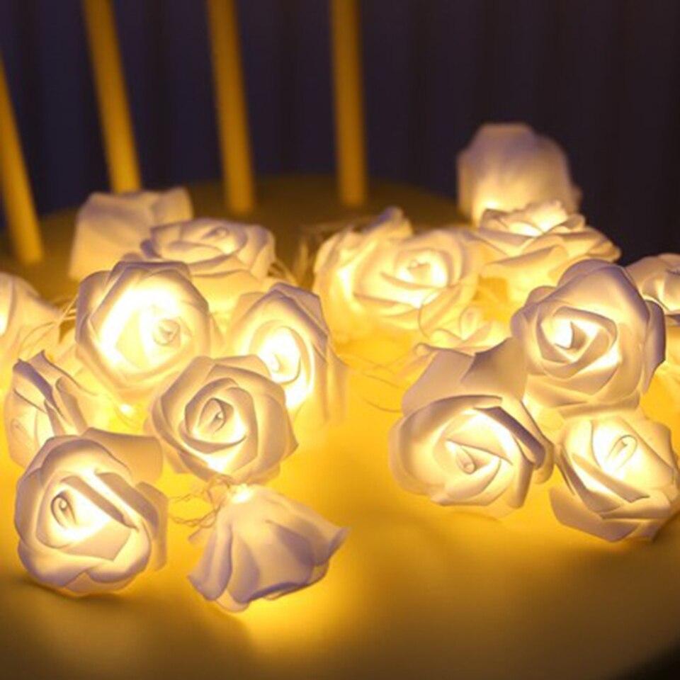 10 LED Fairy String Light Wedding Xmas Party Home Decor Lamp Warm GDFT