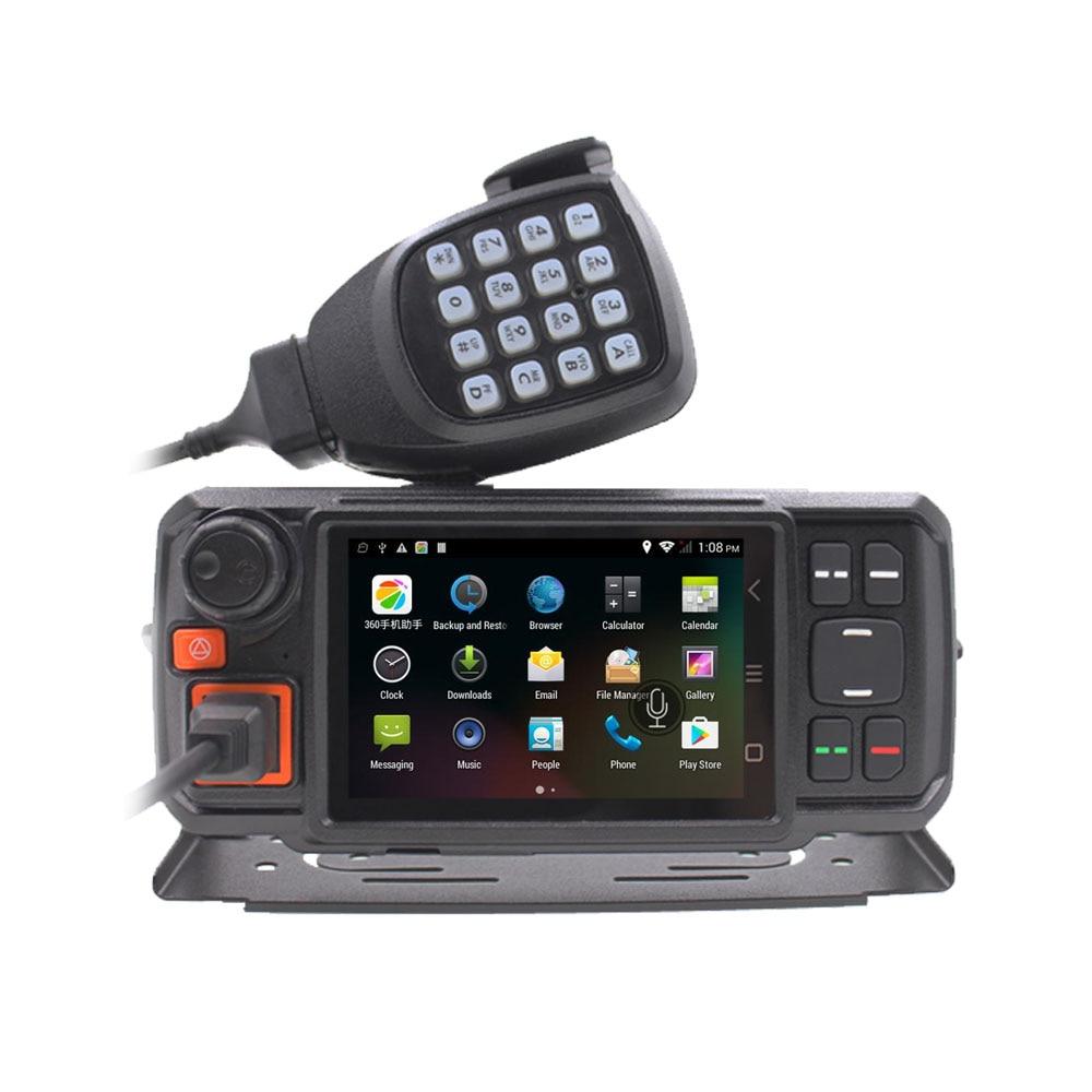 Android Network Transceiver GPS Walkie Talkie SOS Radios Bluetooth Car Radio 3G W2 Mobile Radio with SIM Card