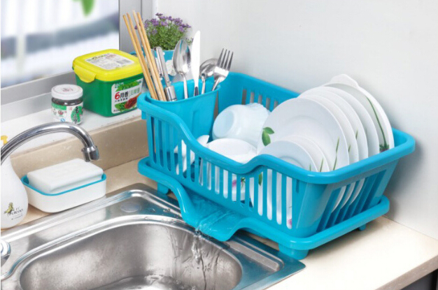 Bowl, Kitchen, Plastic, Rack, Holder, Drying