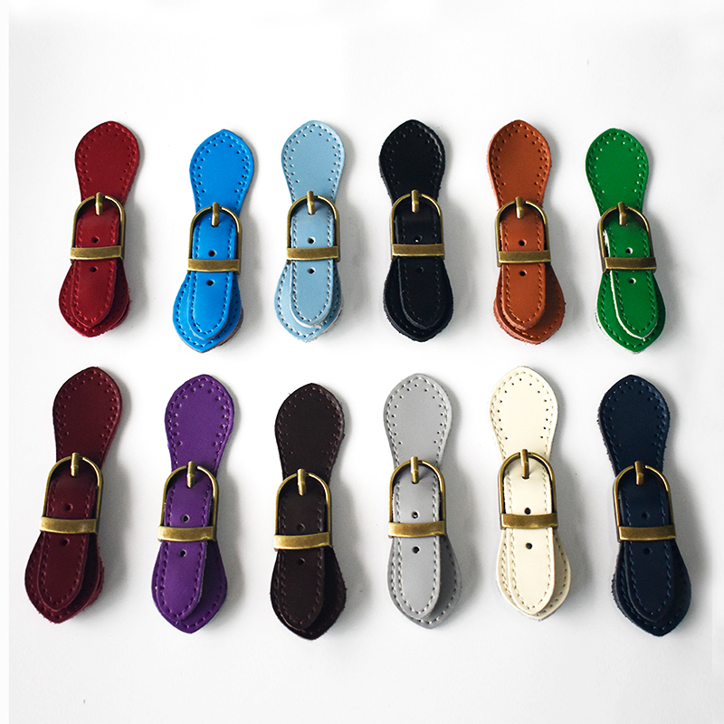 Bag Magnetic Buttons Genuine Leather Bronze Hasp Buckle For Women Handmade DIY Crossbody Handbag Fastener Accessories KZ1205