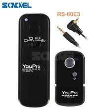 Disparador remoto inalámbrico para coche, RS 60E3 de Control para Canon PowerShot G1 X Mark II G10 G11 G15 G16 G12 G3X G5 X G1X SX50 SX60
