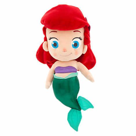 Дисней мультфильм Аниме 30 см плюшевая кукла принцесса кукла Золушка плюшевая игрушка маленькая Русалочка Мягкая кукла детская игрушка подарок