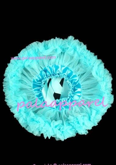 Новорожденный фотографии реквизит ребенка юбка для девочек юбки Pettiskirts шифоновое летнее одежда для малышей - Цвет: Небесно-голубой