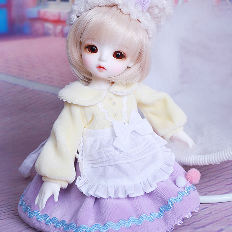 Full Set New Arrival 1/6 BJD Doll Fashion LOVELY  Lina Doll For With Glasss Eyes Baby Girl Birthday Christmas Gift Present Full Set New Arrival 1/6 BJD Doll Fashion LOVELY  Lina Doll For With Glasss Eyes Baby Girl Birthday Christmas Gift Present