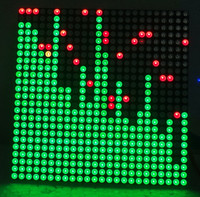 24X24 Two Color Dot Matrix Music Spectrum STM32 Music Spectrum Source