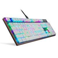 Проводной механическая клавиатура с RGB Подсветка геймер USB клавиатуры для ПК Компьютерные игры XXM8