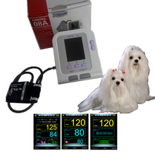 CE approved Veterinary Blood Pressure Monitor  VET BP Meter  Electronic Sphygmomanometer NIBP Monitor