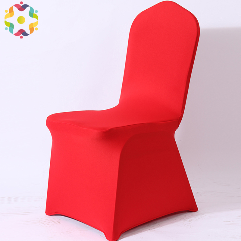 Hot Sale Big Discount Red Spandex Stretch Chair Cover