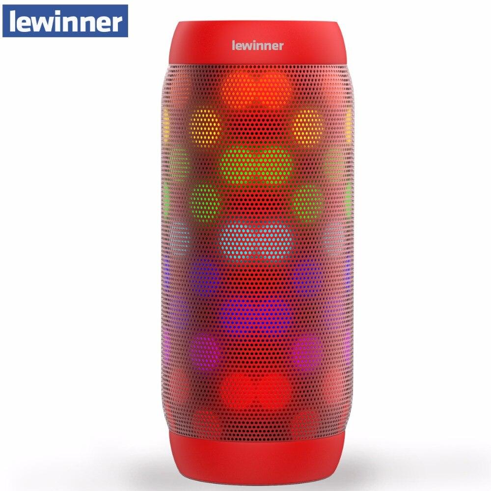 Lewinner bq-615 Pro Bluetooth Динамик Беспроводной стерео мини-Портативный MP3-плееры карман аудио Поддержка громкой связи карты памяти Aux-в