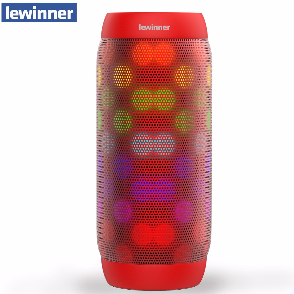 Lewinner BQ-615 pro Bluetooth Haut-Parleur Sans Fil Stéréo Mini Portable MP3 Poche pour Lecteur Audio Soutien Mains Libres TF Carte AUX-in