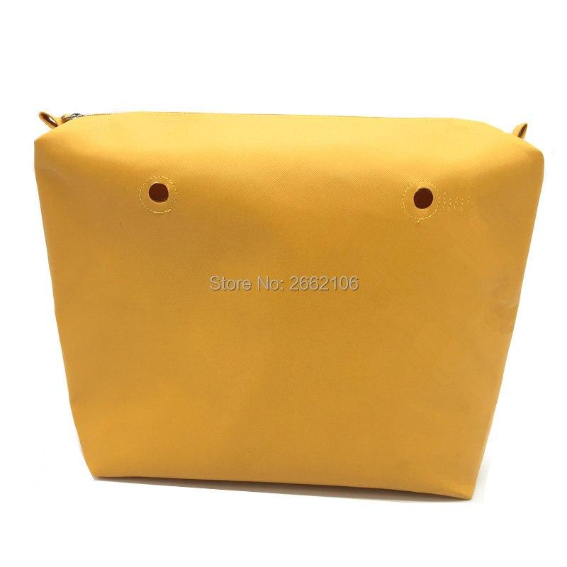 yellow pu inner bag