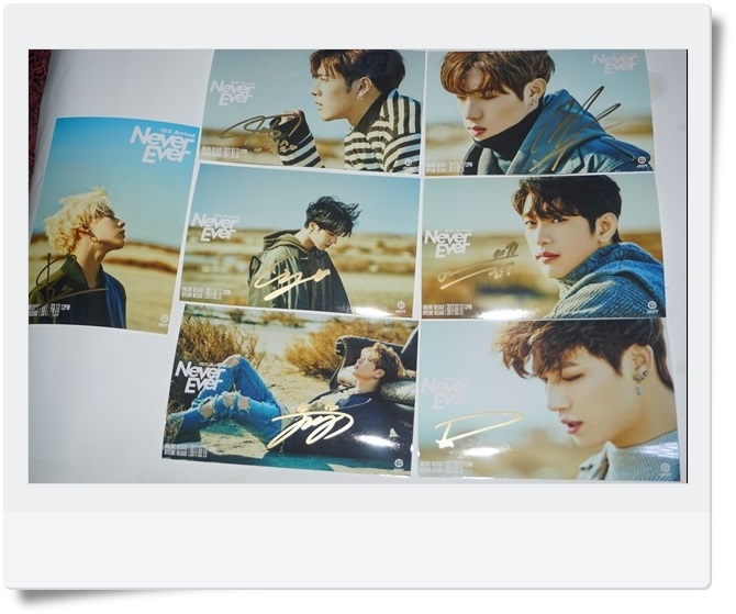 GOT7 GOT 7 autographed signed photo FLIGHT LOG:ARRIVAL 7 photos set  6 inches new korean freeshipping 03.2017 snsd yoona autographed signed original photo 4 6 inches collection new korean freeshipping 02 2017 01