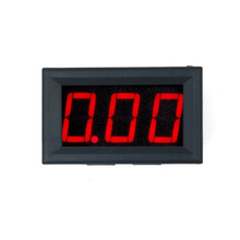 """New arrival Car Motor Motorcycle voltmeter DC 0-100V 0.56"""" Digital Voltage Meter 3 Bits LED red display with three wires 17%"""