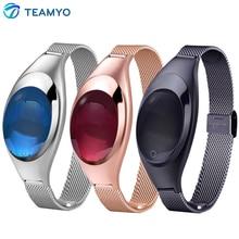 Teamyo Смарт-Band Android Ios Z18 Кровяного Давления Heart Rate Monitor Наручные Часы Роскошные Часы Женщины Подарок