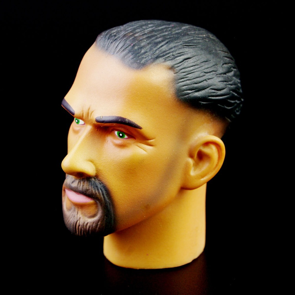 "1//6  Ferritic Toys  Man male  Doll Head Sculpt For  12/"" Figure body hobbies"