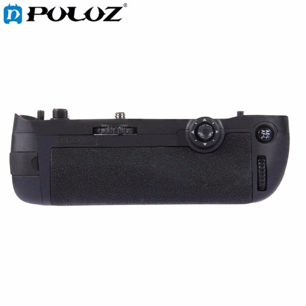 PULUZ Vertical Camera Battery Grip for Nikon D750 Digital SLR Camera Replacement MB-D16 as EN-EL15 Battery puluz pu2503 vertical replacement camera battery grip battery holder for nikon d7100 d7200 digital slr camera