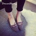 DreamShining Женская Обувь Балетки Женщины Плоские Туфли Балетки Повседневная Обувь Sapato Женщин Мокасины Zapatos Mujer