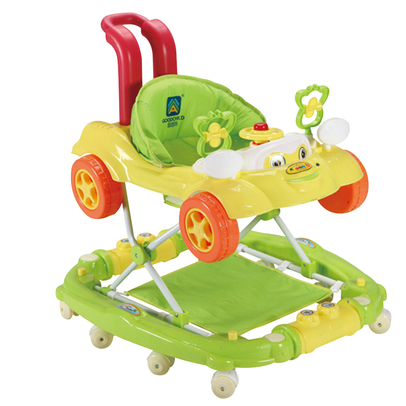 Hot Sell Baby Step Car Children Walker Rollover Prevention Infant Baby Walkers Roll Music Rocking Horse Safety Baby Walkers original fisher price multi function baby walker lion car children activity musical baby walker with wheels adjustable car