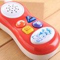 Regalo educativo Del Juguete Del Bebé embroma el Teléfono Celular colores aleatorios pulse el botón nuevo de dibujos animados music sound