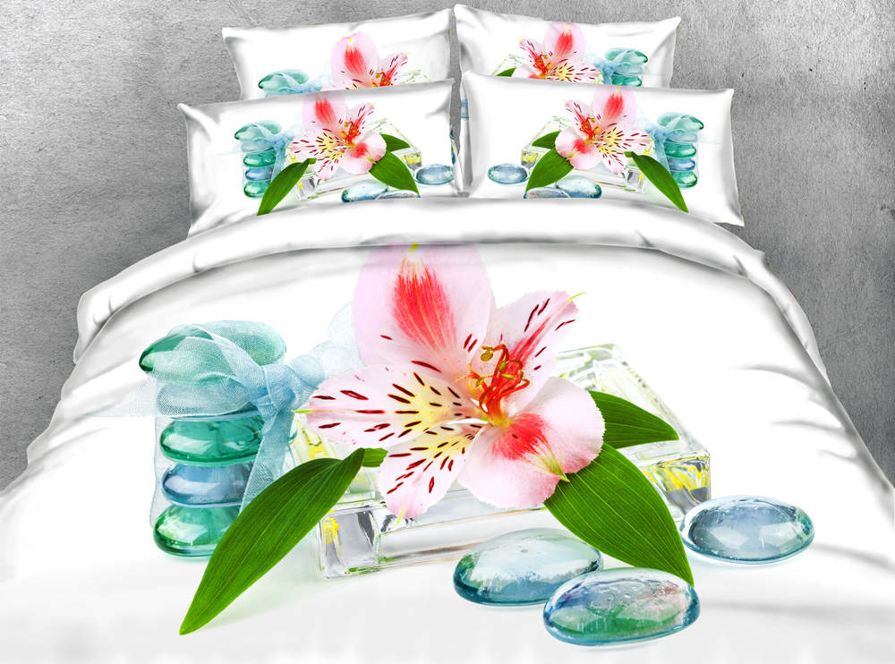3d printed comforter bedding set quilt/duvet covers bedspreads twin full queen king size girls home 500TC woven pink lilo flower3d printed comforter bedding set quilt/duvet covers bedspreads twin full queen king size girls home 500TC woven pink lilo flower