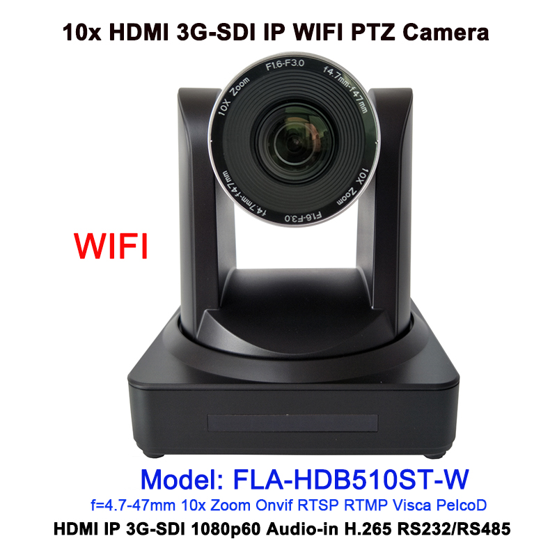 Professional 2MP 1080P60 Audio Visual Solution 10x zoom HDMI 3GSDI video conferencing IP WIFI camera ptz|Surveillance Cameras| |  - title=