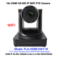 Professional 2MP 1080P60 Audio Visual Solution 10x zoom HDMI 3GSDI video conferencing IP WIFI camera ptz