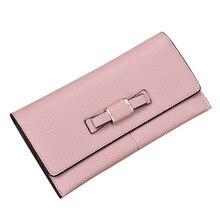 Long Wallet Women Purses Fashion Litchi Coin Purse Card Holder Wallets Female Quality Clutch Money Bag PU Leather Wallet стоимость