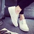 Весна лето мужчины повседневная обувь звезды женской обуви холст обувь мужская квартиры мужчины женщины ткань повседневная обувь низкие базовые белый черный