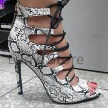 afc85cbf Nuevas botas de baile blancas de piel de serpiente, zapatos de baile latino,  zapatos