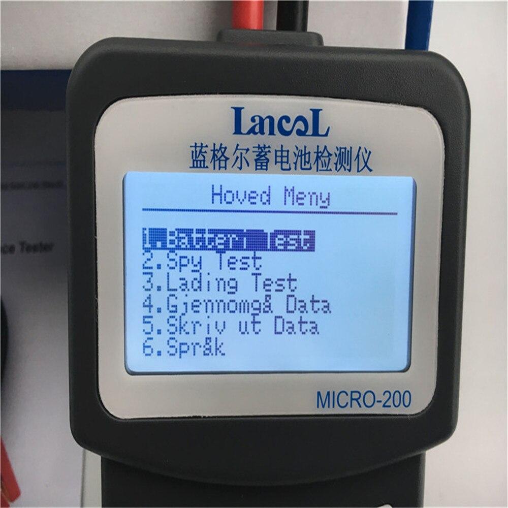LANCOL 12V CCA Digital Car Battery Tester Checker Automotive Battery Load Tester