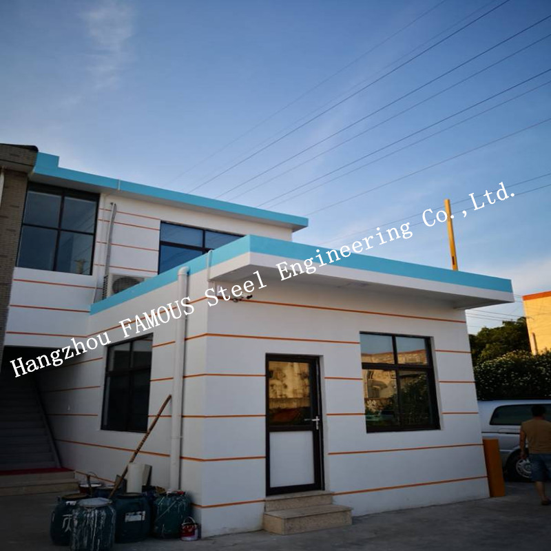 China Steel Quick Assembled Affordable House Building Complex EPC Contractor Construction For Low Income Staff
