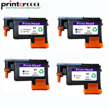 einkshop 91 Print Head Replacement For HP 91 For Designjet Z6100 Z6100P Printhead C9460A C9461A C9462A C9463A hp 91 c9461a magenta yellow