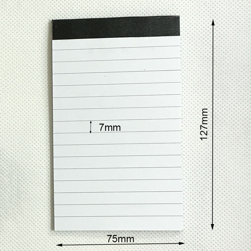 Wholesale 10 Pcs/lot  High Quality Mini Notepad 30 Sheets Paper With Line Memo Pads Notebook Paper