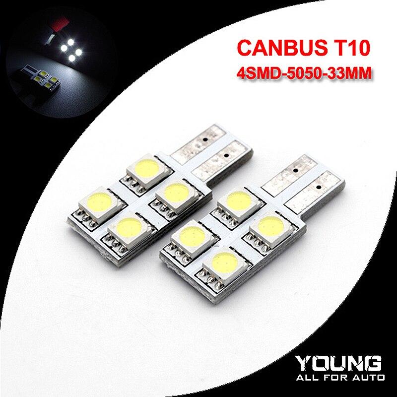 10 X Error Free T10 CANBUS 5050  5 SMD LED w5w 194 light bulb Lamp PCB-us seller