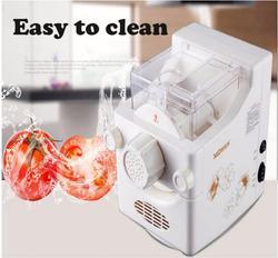 DIY gospodarstwa domowego maszyna do robienia makaronu mały  w pełni automatyczny elektryczny urządzenie do gotowania makaronu makaron formy w kolorze białym MTJ138A
