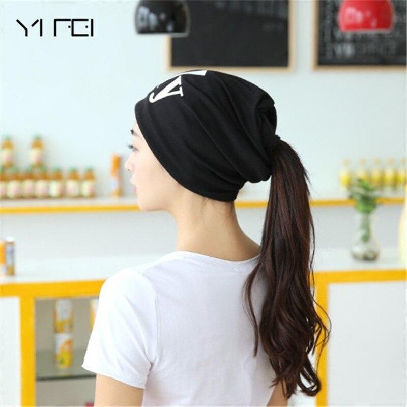 YIFEI Fashion Brand Autumn And Winter Hats For Women Design Ladies thin hat Skullies&Beanies Hat Unisex  Men or Women Warm Hats