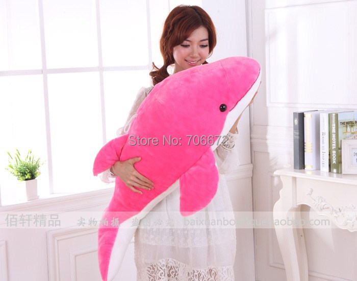47 inch doll, pink or blue dolphin plush toy ,hugging pillow, toy Gift b060247 inch doll, pink or blue dolphin plush toy ,hugging pillow, toy Gift b0602