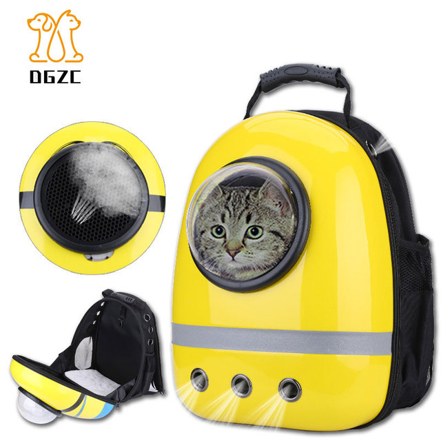 Reflective Travel Pet Carrier Backpack,Space Capsule Bubble Design