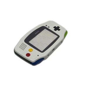 Image 5 - Yedek Gri Konut Shell Kılıf w/Siyah Düğmeler Nintendo Gameboy Advance GBA için Süper famicom Denetleyici