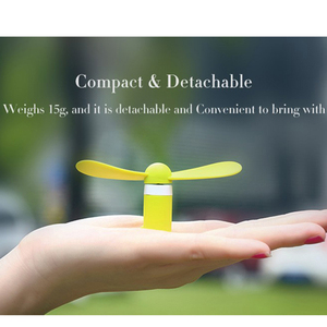 Image 2 - FFFAS Micro USB Cool Fans Mobile Phone USB Gadget Fan Summer USB Windmill Ventilador for Samsung Android Drop Shipping Wholesale