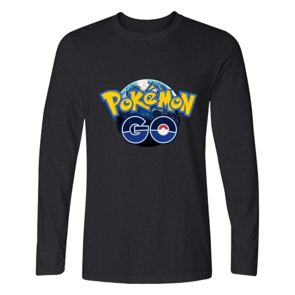 LUCKYFRIDAYF Valor Mystic Instinct Pokemon Go Tshirt For Men Women Clothing Print Pocket Monster Long T-shirt Funny Games Tees