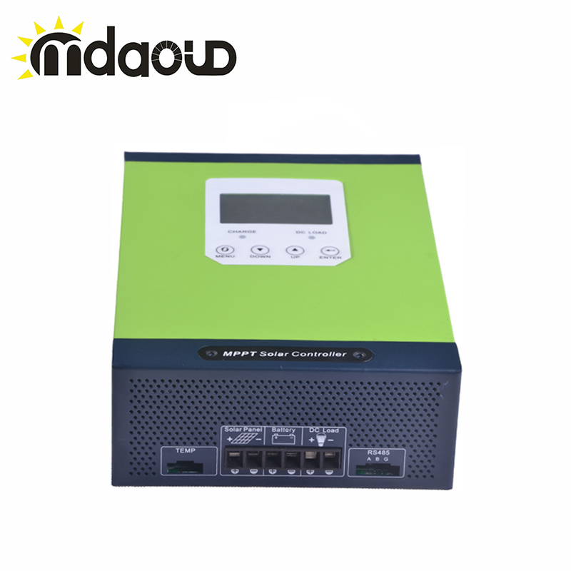 40A/50A/60A Smart MPPT Контроллер заряда для фотоэлектрических систем и 12/24 V/48 V Макс. PV вход 150VDC с ЖК дисплей дисплея и RS485 Порты и разъёмы