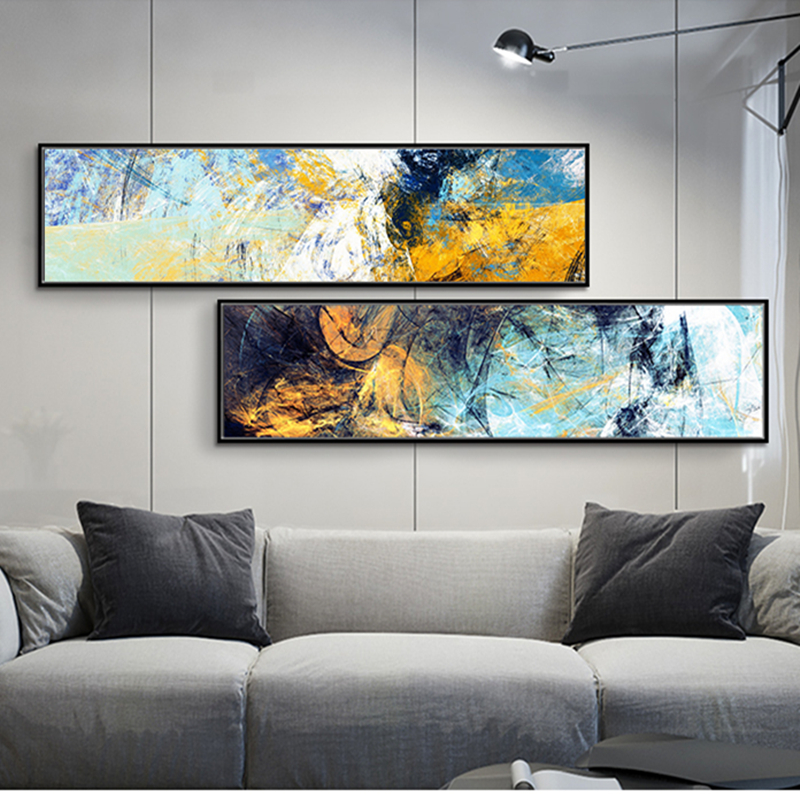 100%handmade oil Paintings on Canvas Modern Abstract Wall Art