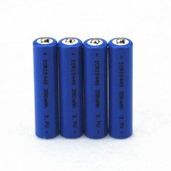 AIMIHUO AAA batería 3,7 V 350mAh batería de litio ICR10440 10440 baterías recargables LiIon plana sin protección