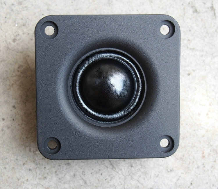2.5インチ輸入しhifi絹フィルムhifiツイーター25コア強い磁界トレブル用diy (4オーム6ohm 8オームオプション)