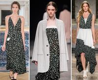 Wholesale Black White Leaves Pattern Double Crepe Lace Silk Fabrics Print Satin Fabric Scrapbooking Costura Stripe