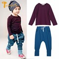 TWINSBELLA Baby Clothing Set New Autumn Baby Boy Long Sleeve Cotton T-shirt+Harlan Pant Baby Casual 2PCS Clothes Sets For Boys