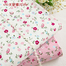 width 160cm*50cm 100% cotton  baby rustic print bedding bed sheets clothes child cotton fabric sewing quilt tecidos