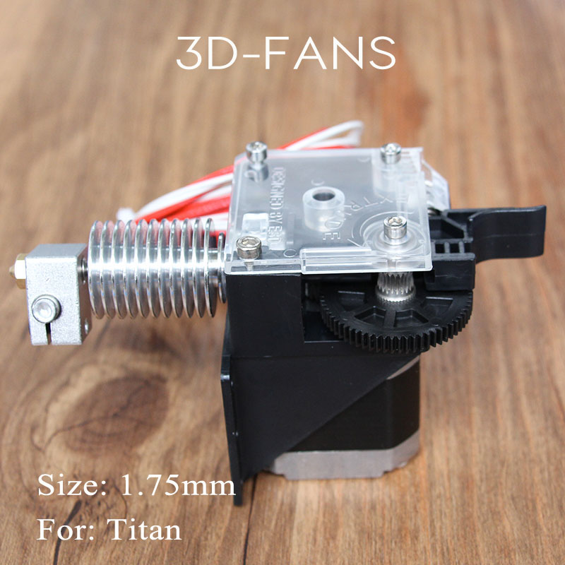 3D Printer Parts Titan Extruder fully Kits for Desktop FDM Reprap MK8 Kossel J-head bowden Mounting Bracket 1.75mm 3d printer accessory reprap j head mkiv mkv hotend nozzle wade bowden extruder for choice top quality free shipping